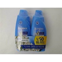 Blendax 650ml+650ml 2 li şampuan